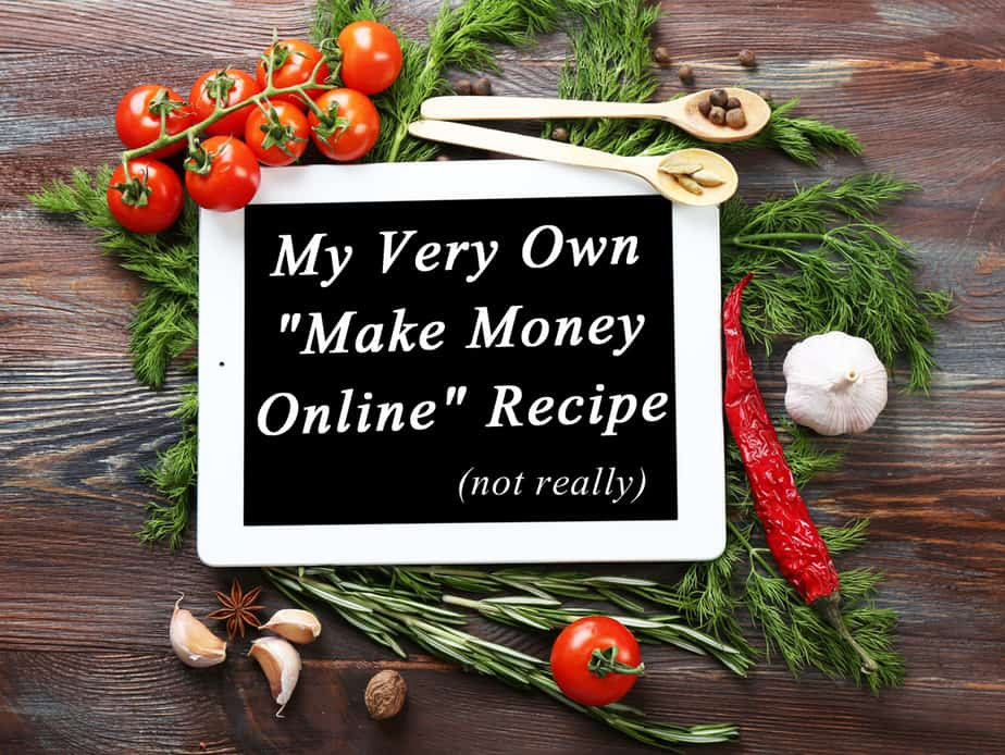 My recipes for blogging success